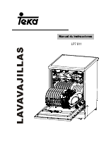 Lavavajillas teka lp7 811 blanco | electrodomesta.