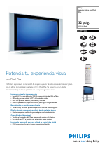 Philips Flat TV manuales