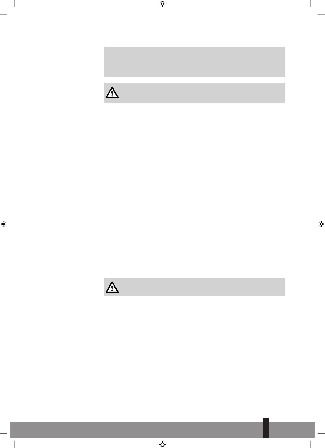 Istruzioni Di Sicurezza Qlima Fiorina 74 S Line Grey Manual Del