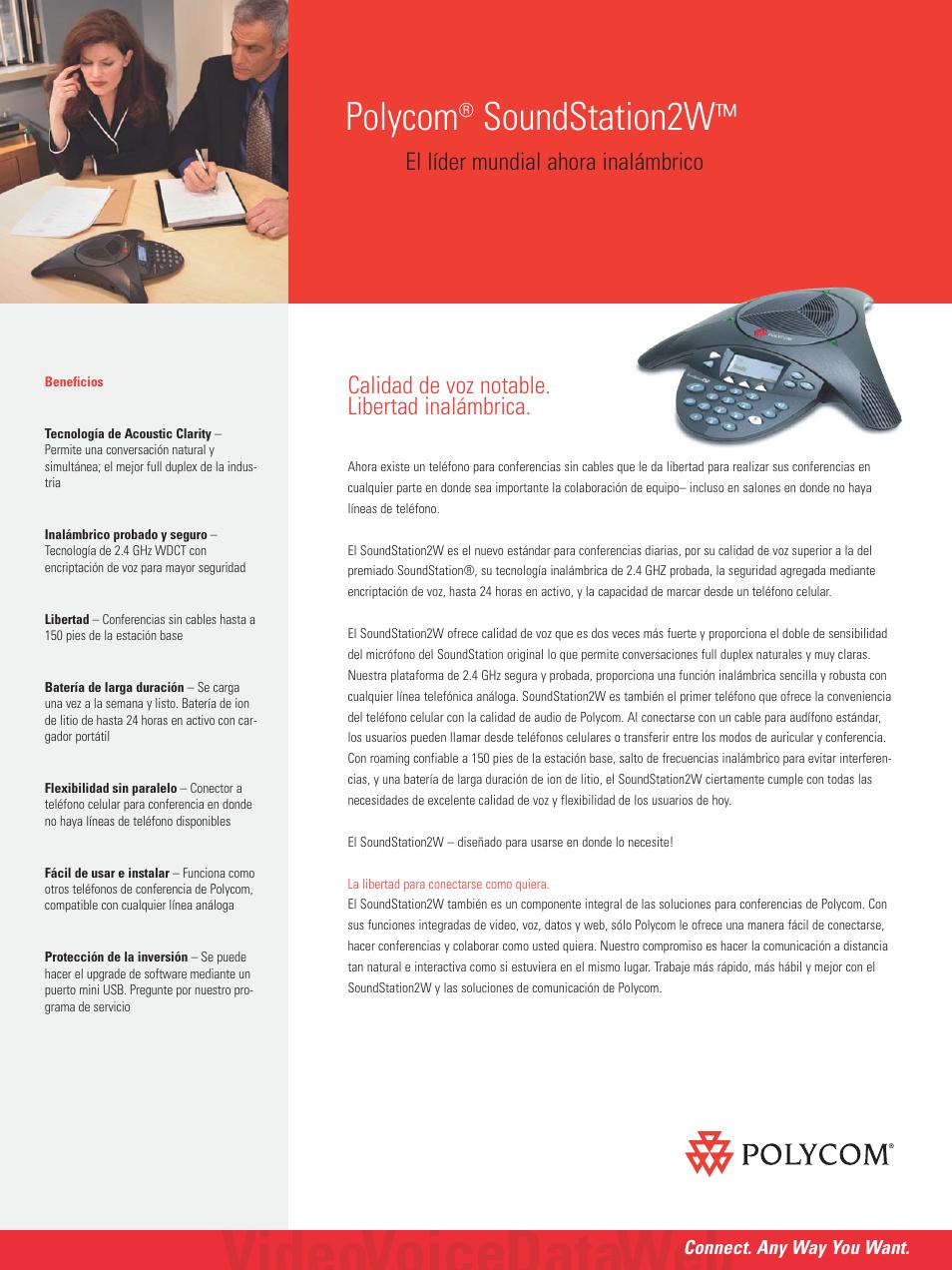 polycom soundstation 2w manual del usuario p ginas 2 rh pdfmanuales com