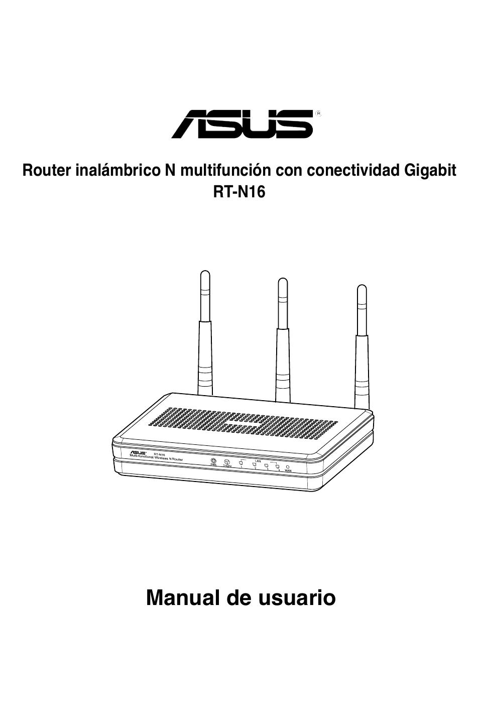 asus rt n16 manual del usuario p ginas 66 rh pdfmanuales com asus dsl-n16 user manual asus dsl-n16 manual pdf
