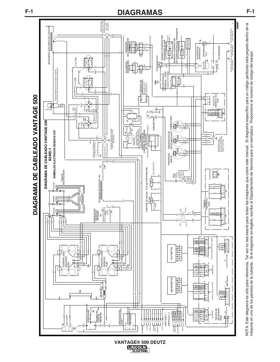 diagramas  diagrama de cableado vantage 500  vantage u00ae 500