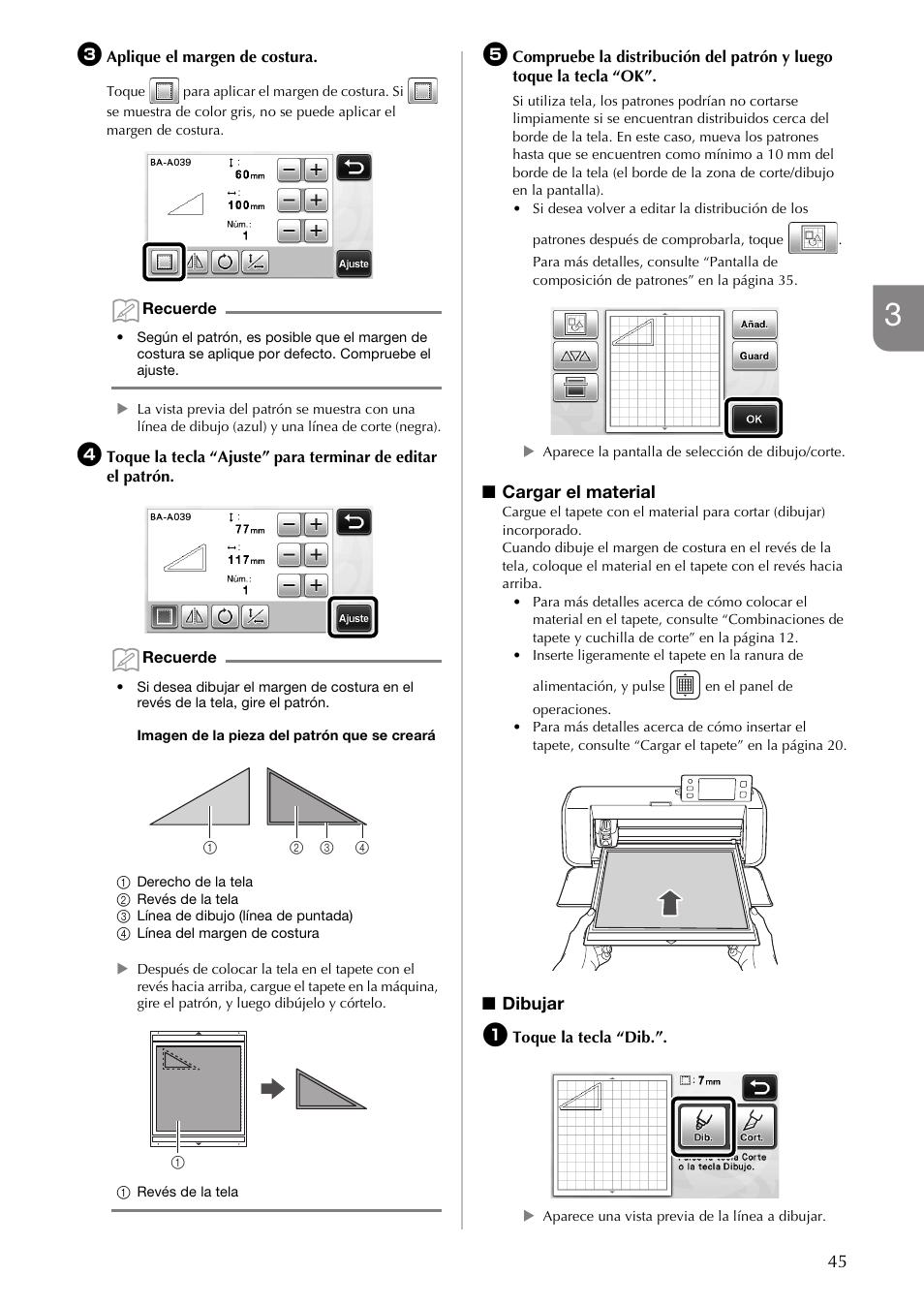 Brother CM840 Manual del usuario | Página 47 / 70 | También para: CM600