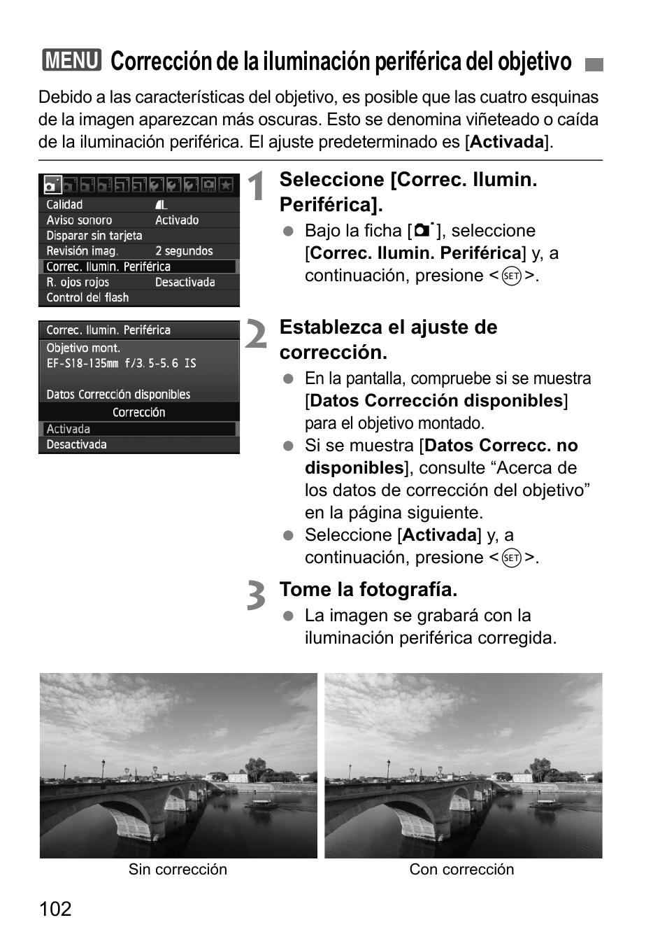 Canon EOS 60D Manual del usuario   Página 102 / 320
