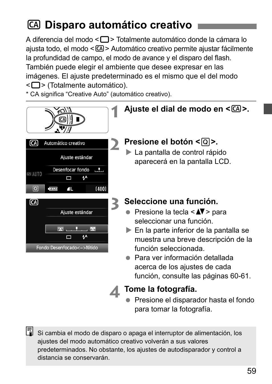 C disparo automático creativo   Canon EOS 60D Manual del usuario   Página  59 / 320