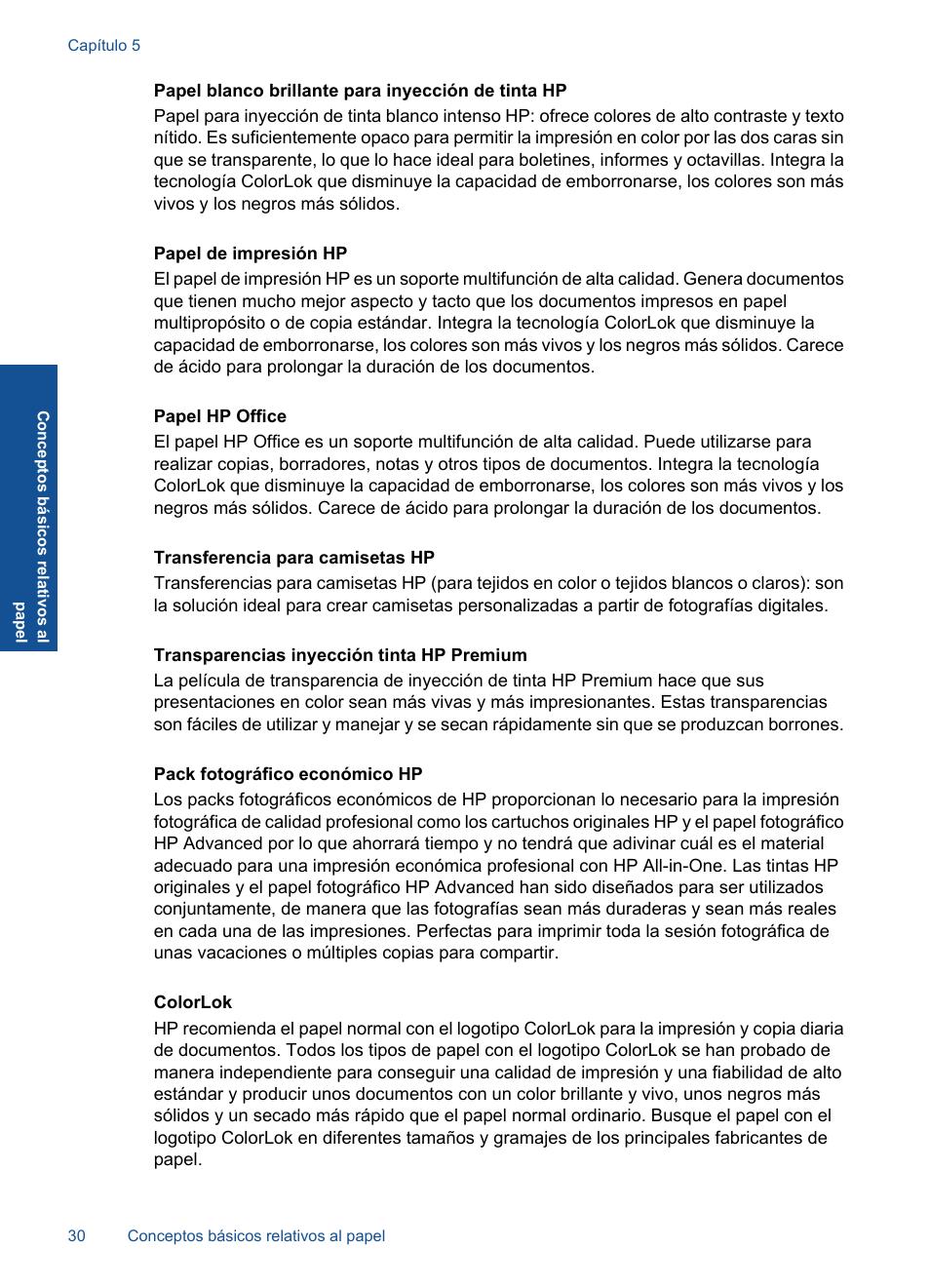 HP Impresora Todo-en-Uno HP Deskjet F4580 Manual del usuario | Página 33