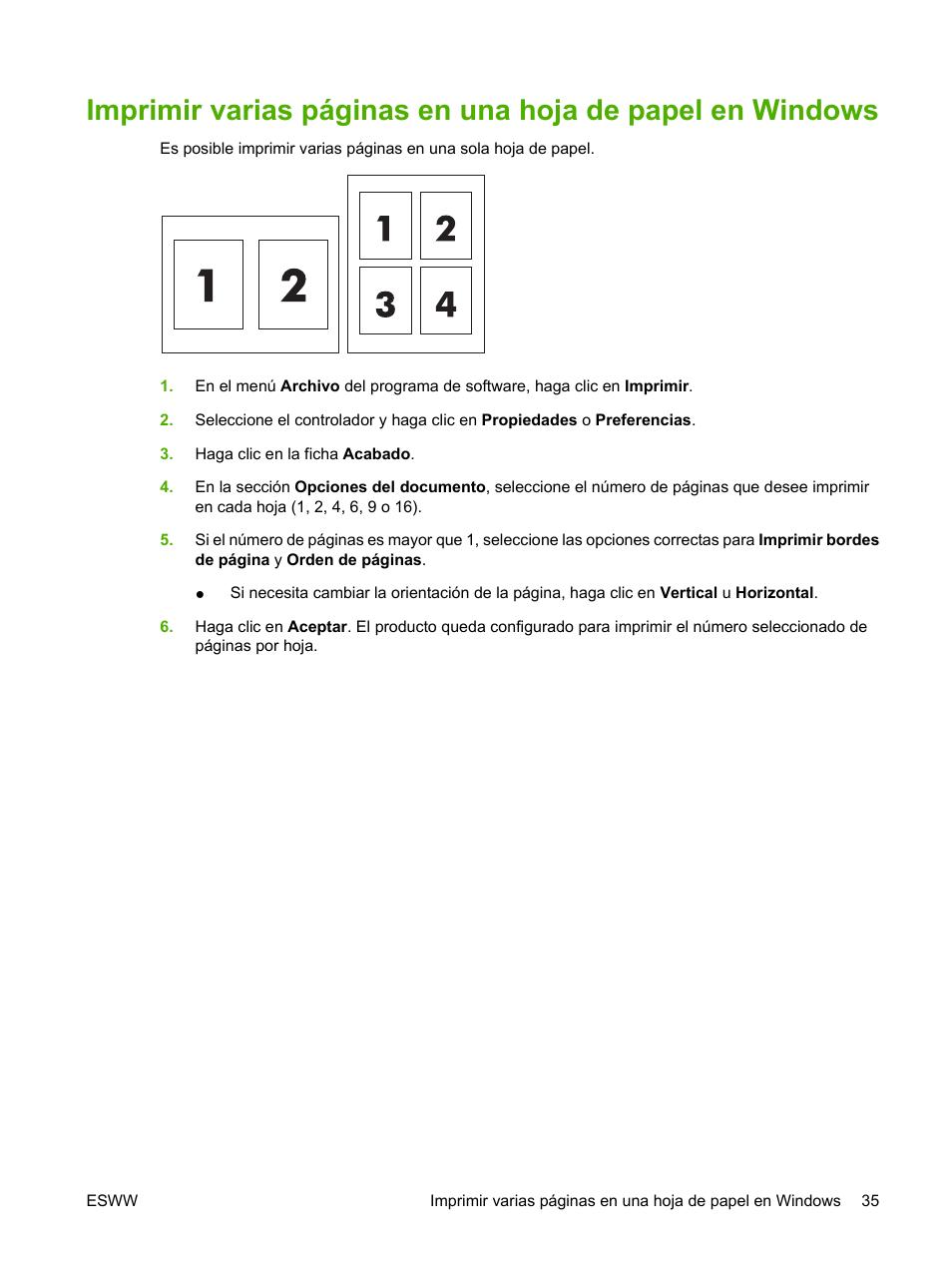 HP Impresora en color HP LaserJet CP1215 Manual del usuario | Página ...