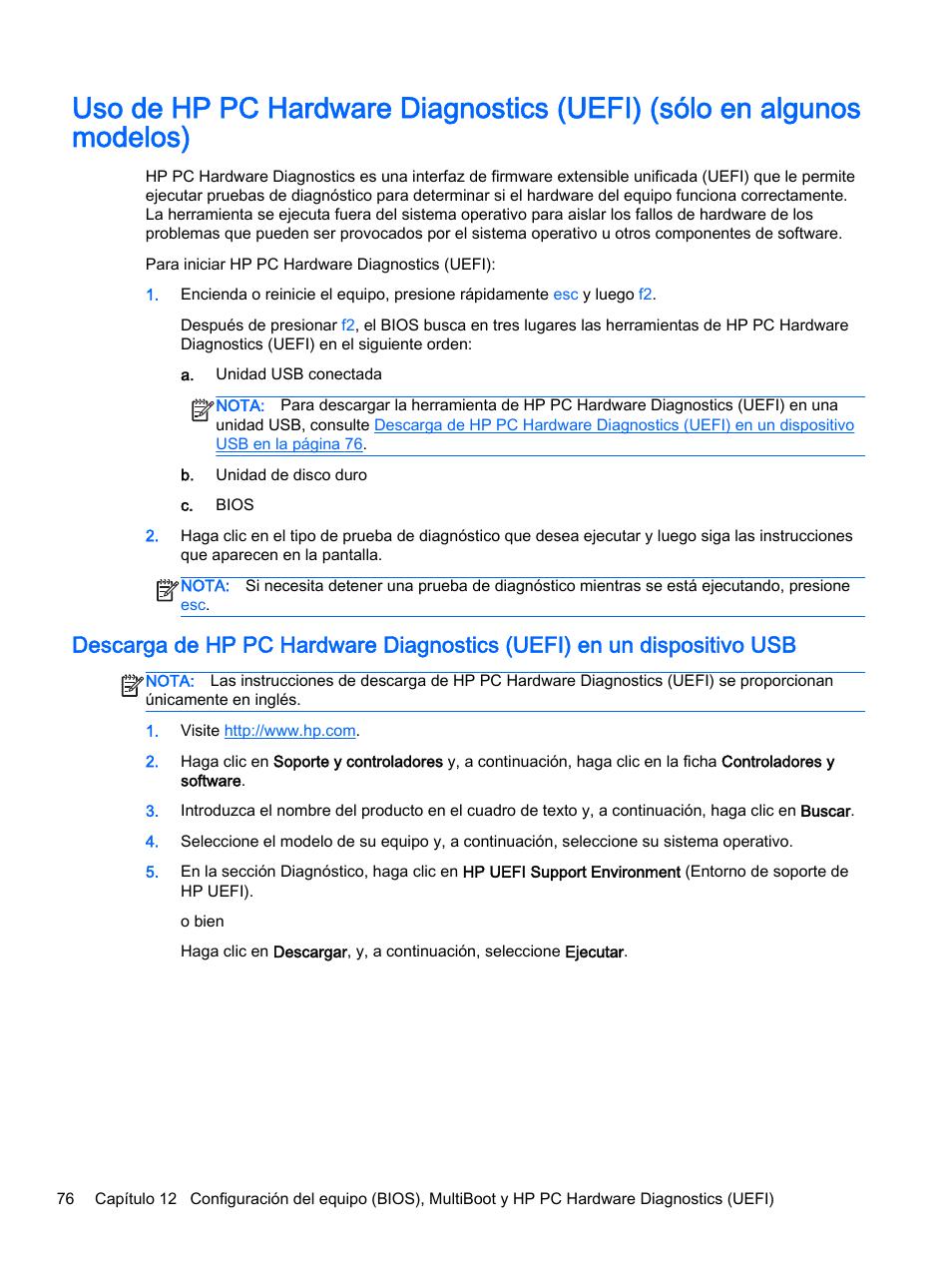 HP PC Notebook HP EliteBook Folio 1040 G1 Manual del usuario