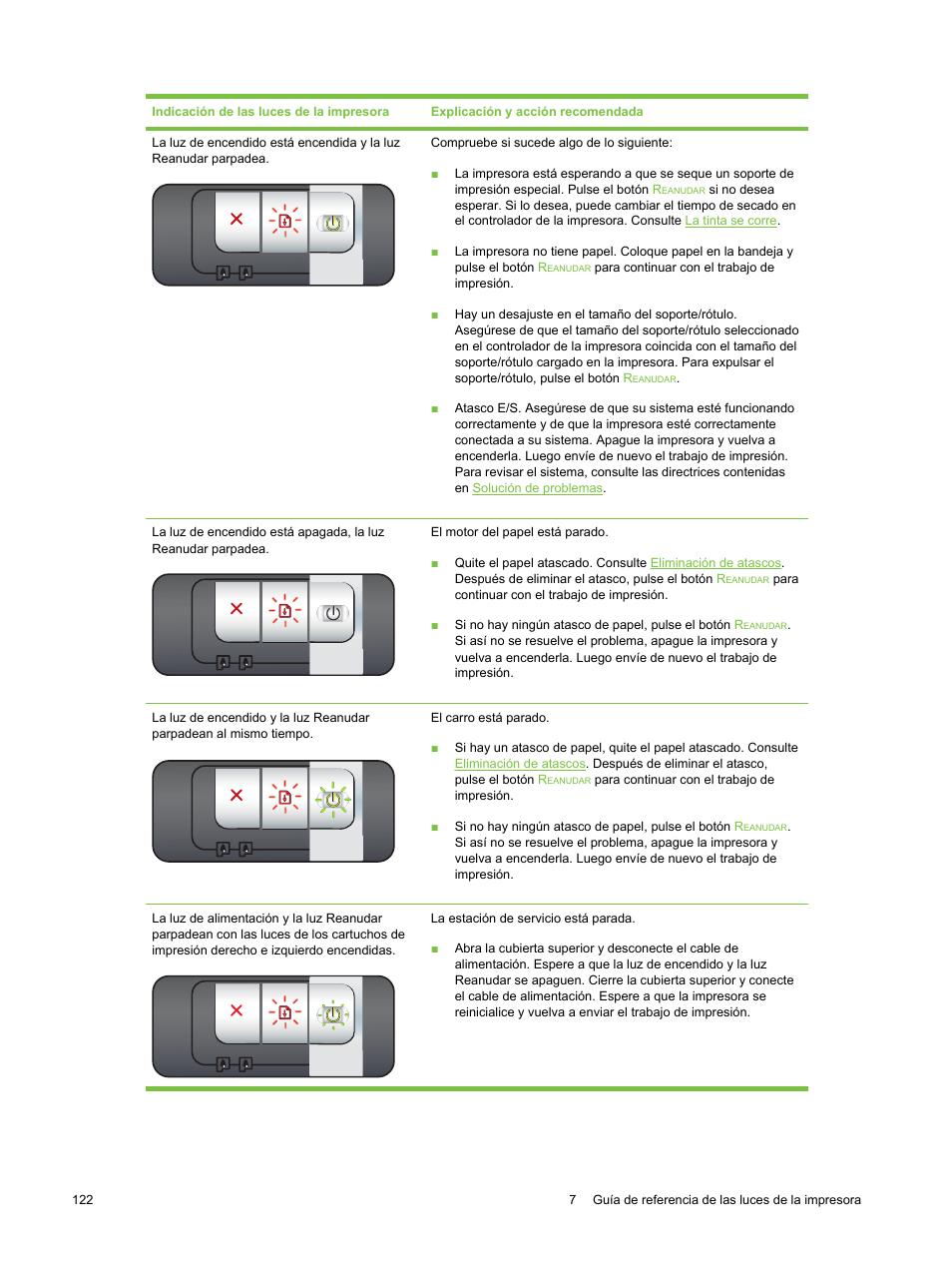 HP Impresora HP Deskjet serie 9800 Manual del usuario | Página 132 / 178