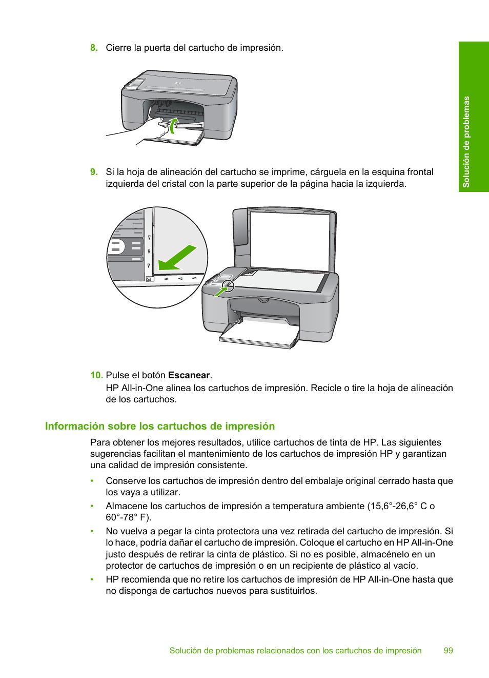 informaci n sobre los cartuchos de impresi n hp impresora todo en rh pdfmanuales com Impresora HP 3525 Impresoras HP LaserJet 2727
