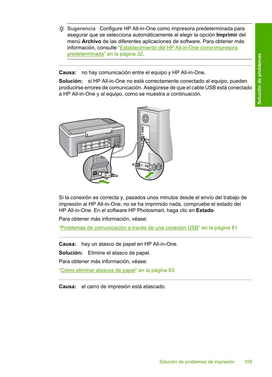 hp impresora todo en uno hp deskjet f2180 manual del usuario rh pdfmanuales com Impresoras HP LaserJet 2727 Impresoras HP 245