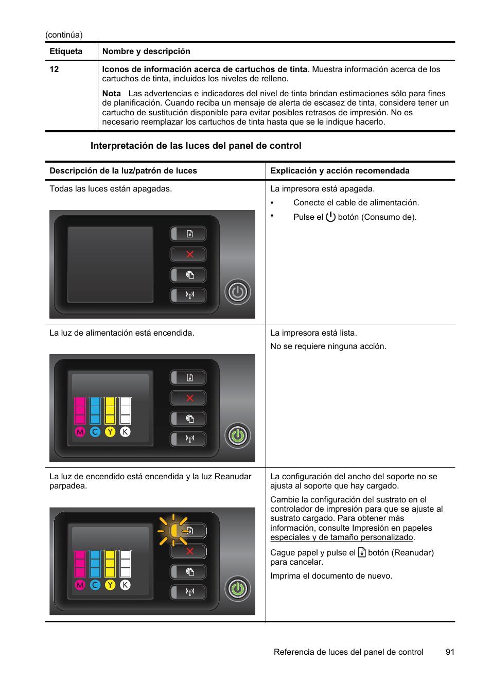HP Impresora HP Officejet Pro 8100 ePrinter - N811a N811d Manual del  usuario   Página 95