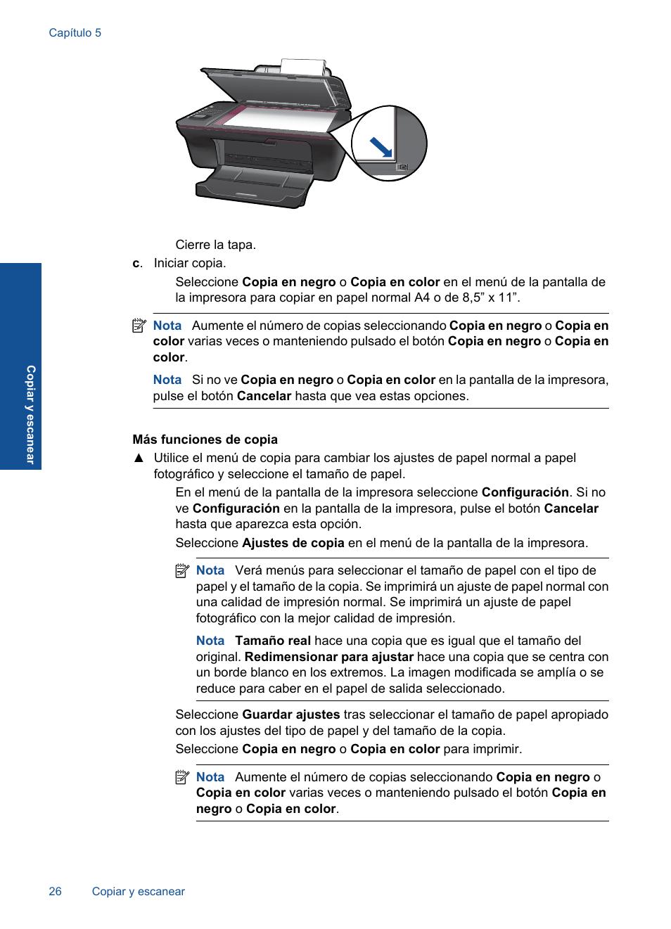 hp deskjet 3050 manual del usuario p gina 28 66 original rh pdfmanuales com hp 3055 manual hp 3055 manual
