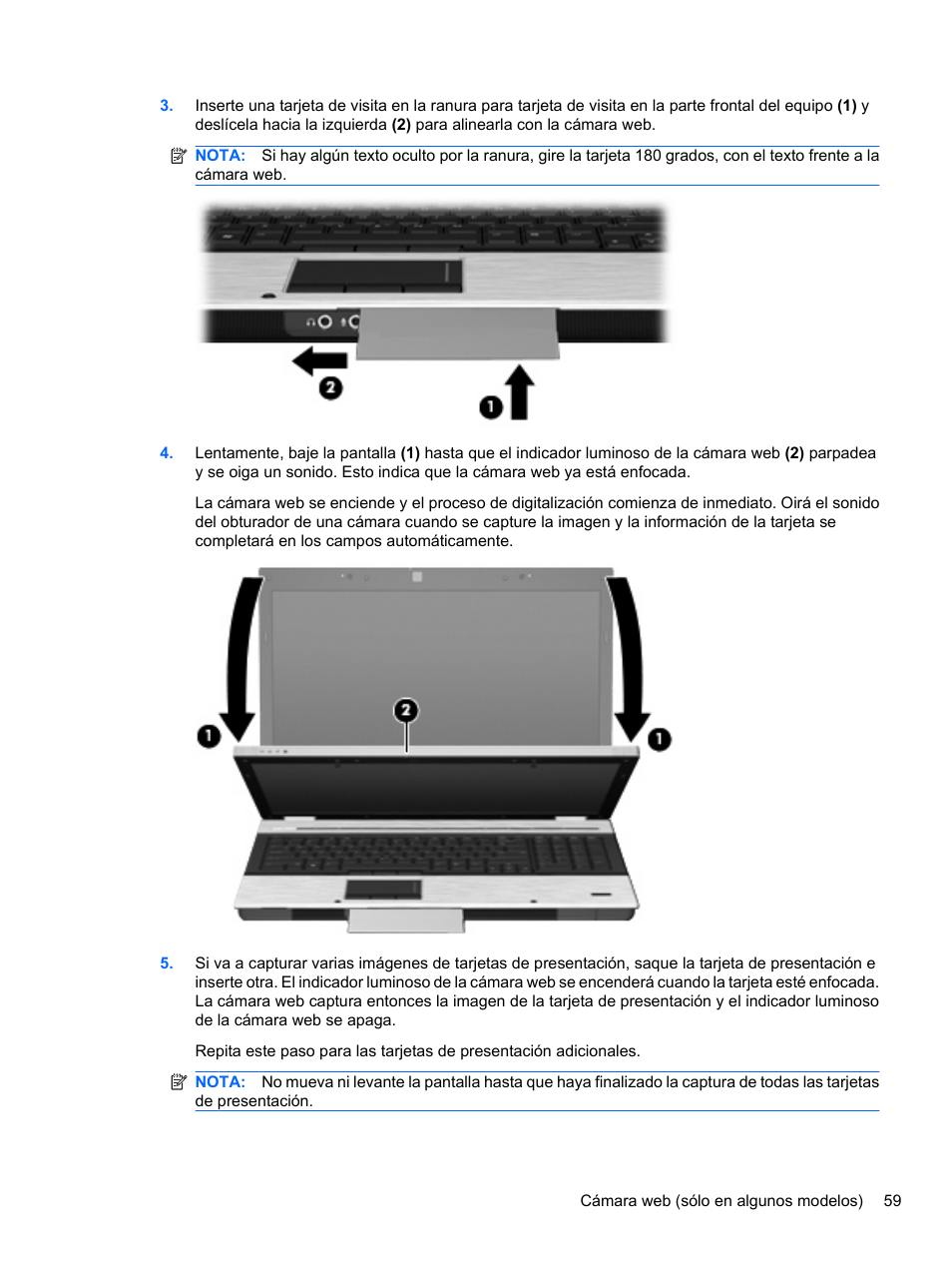 hp elitebook 8740w mobile workstation manual del usuario p gina 71 rh pdfmanuales com HP Eliteook HP Ellite Book