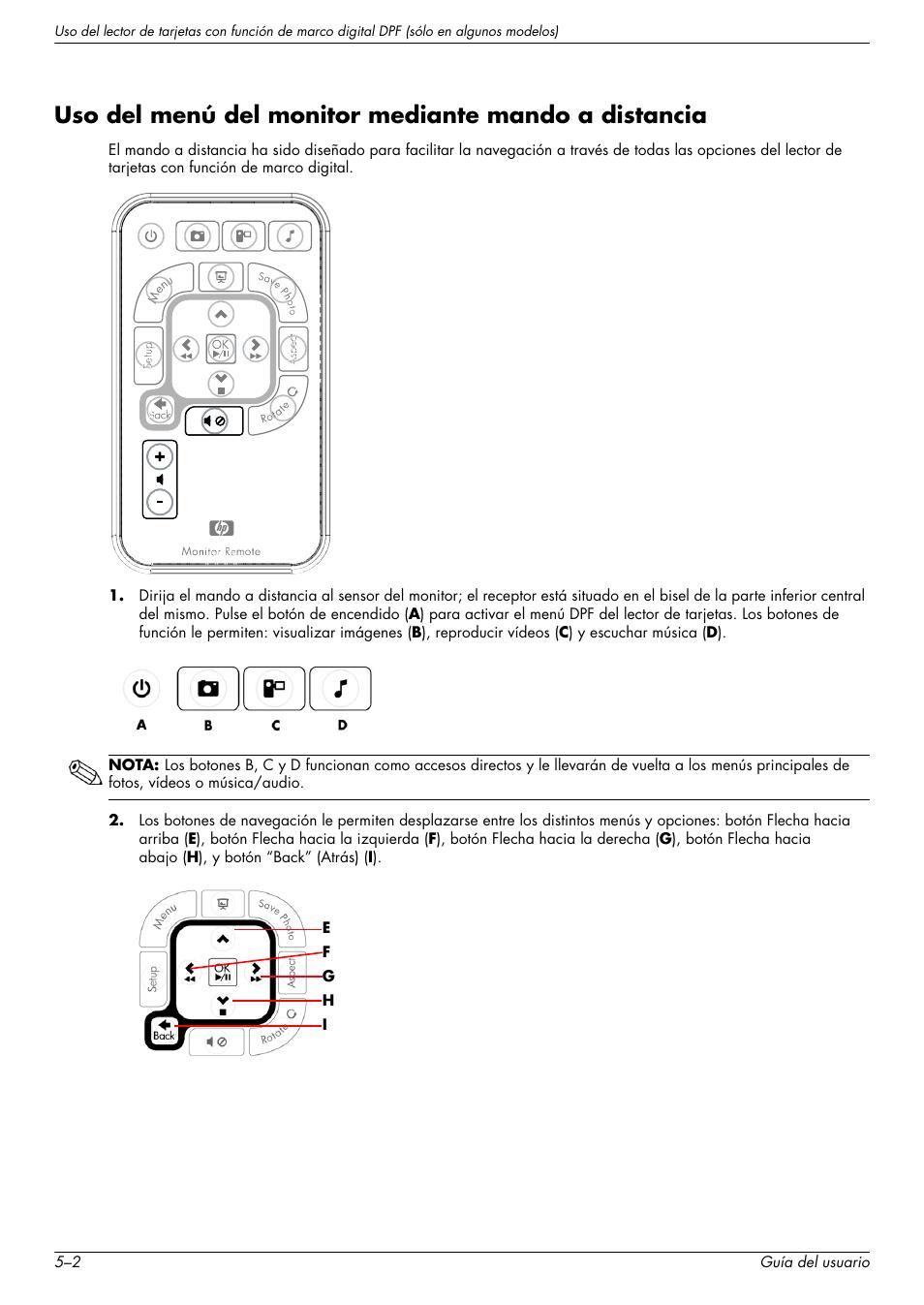 HP Monitor LCD de 23 pulgadas HP w2338h Manual del usuario | Página ...
