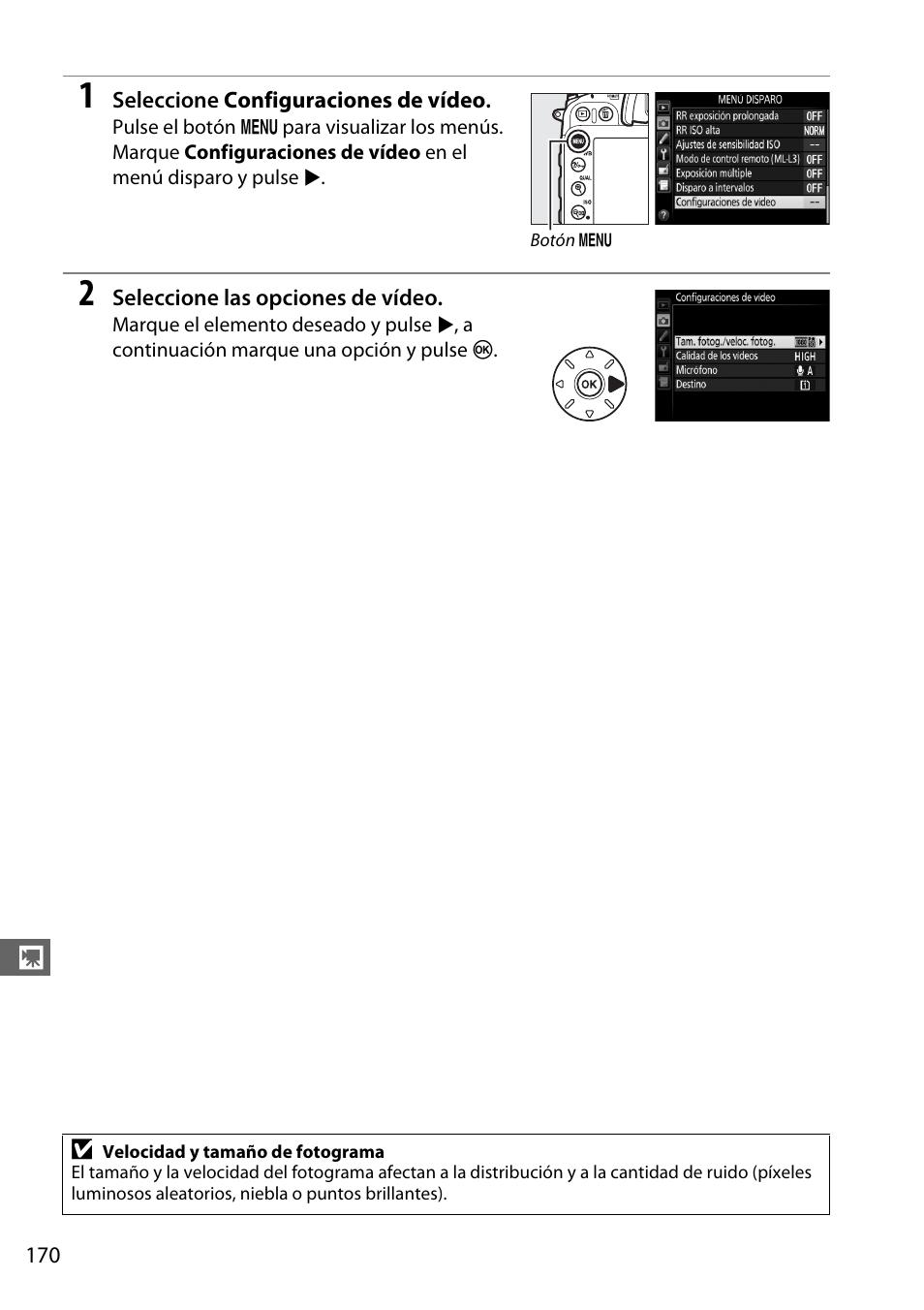 Nikon D7100 Manual del usuario | Página 198 / 384