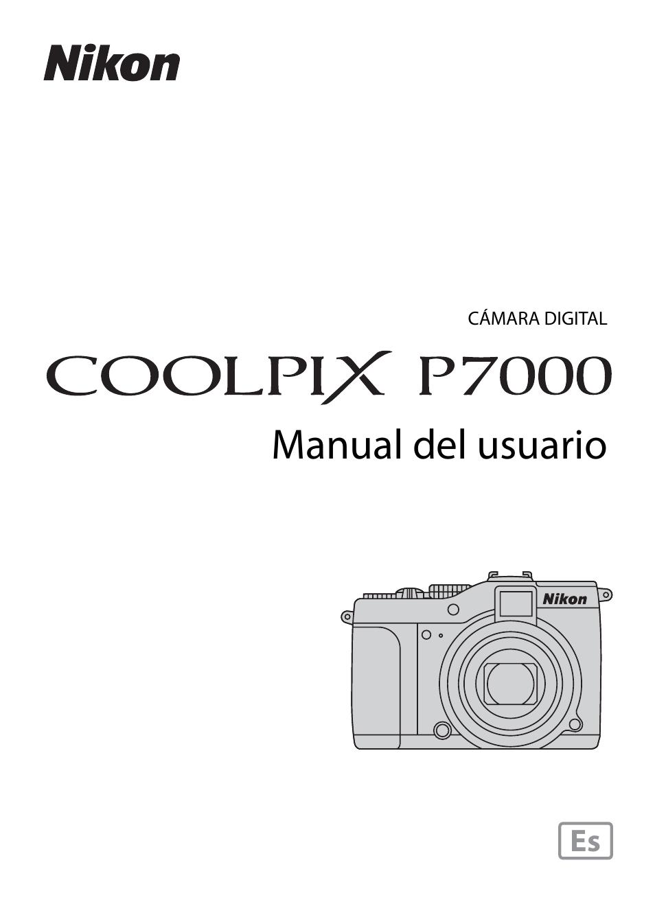Nikon coolpix p7000 manual.