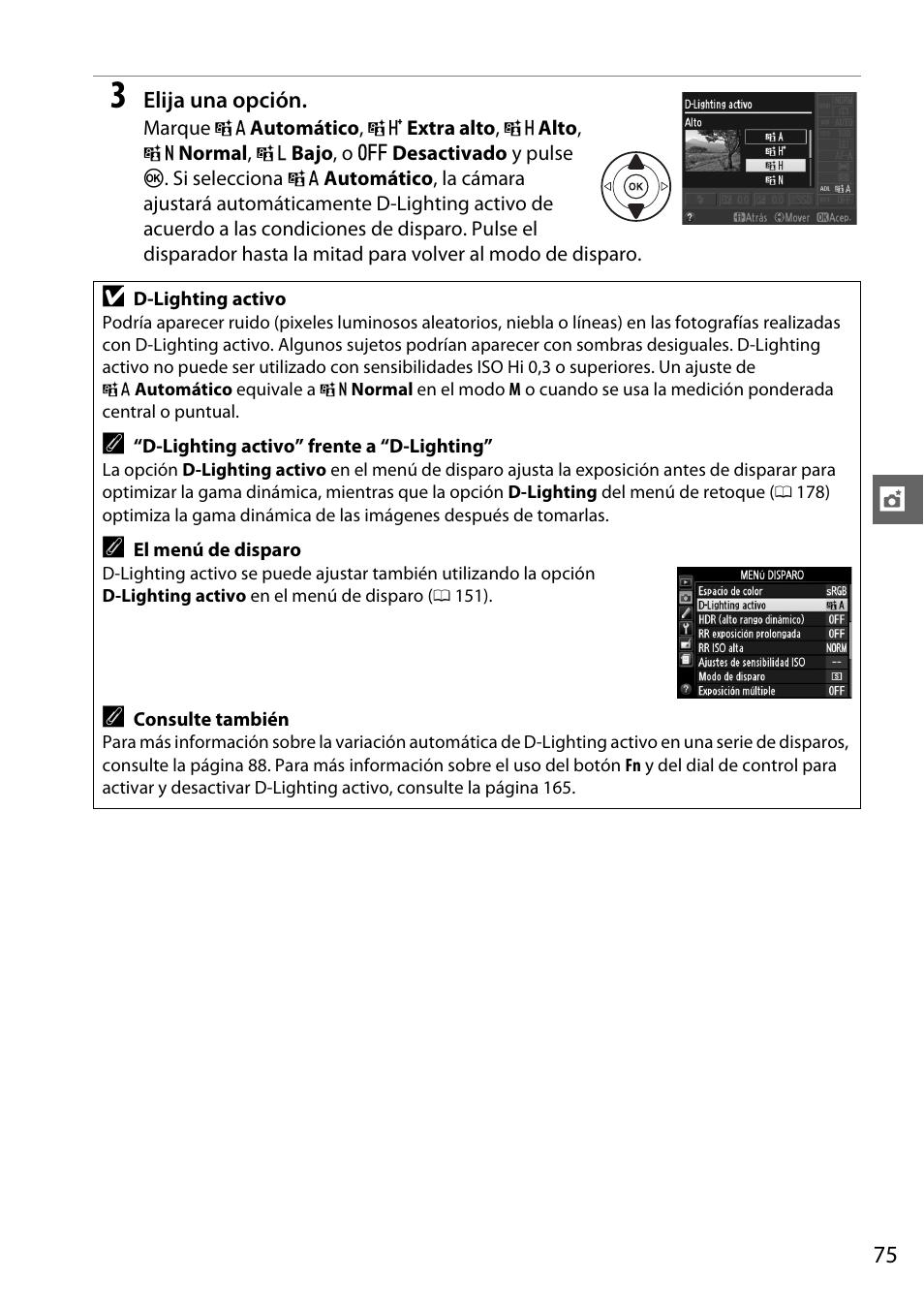nikon d5100 manual del usuario p gina 93 260 original rh pdfmanuales com Shot with Nikon D5100 Diagram Nikon D5100