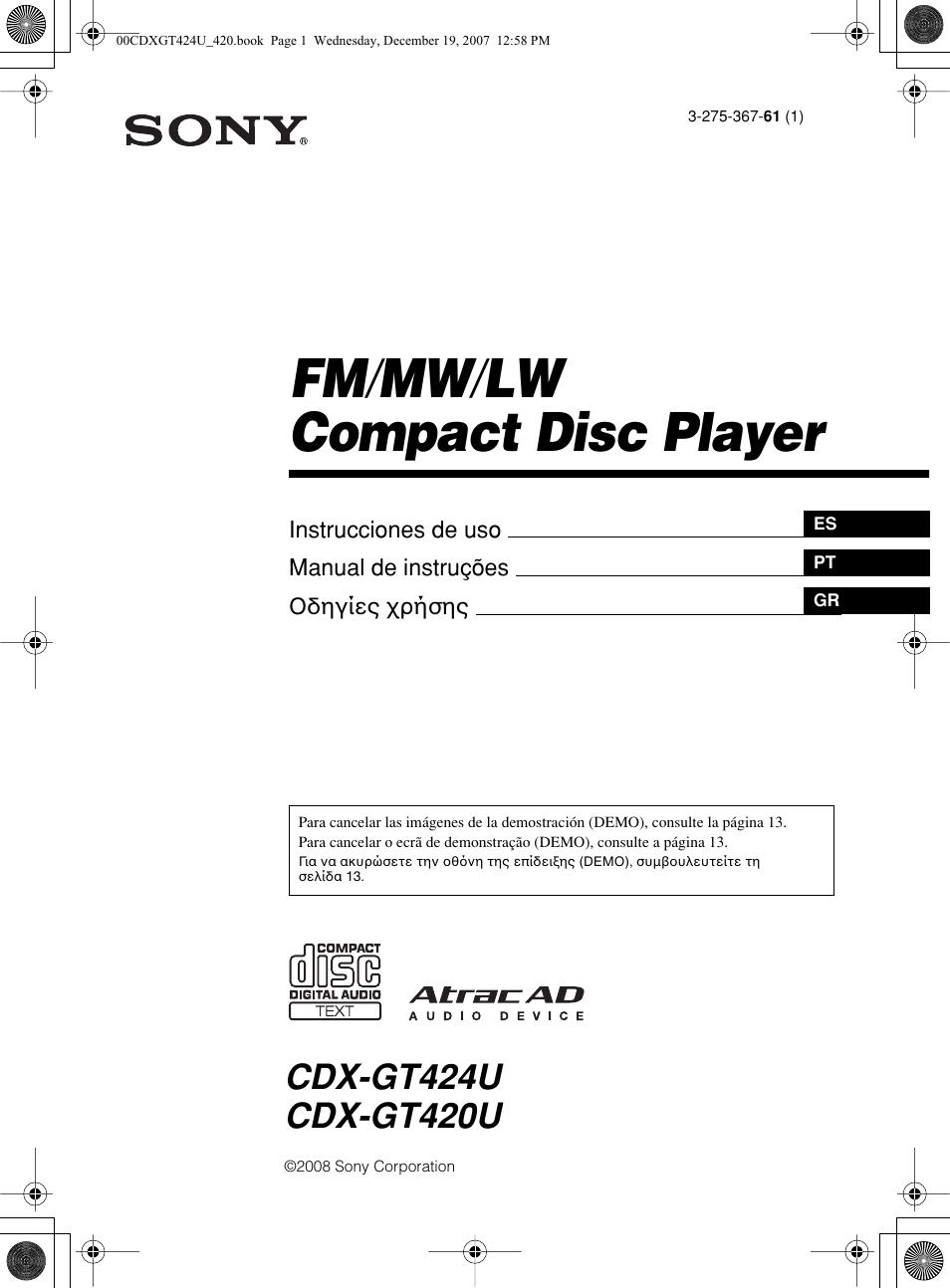 Sony Cdx Gt420u Wiring Diagram Diagrams Schema M610 Manual Del Usuario Pginas 64 F5710