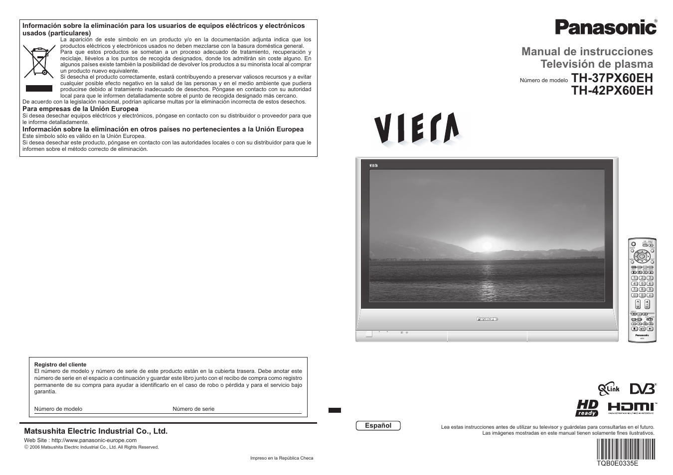 panasonic th37px60eh manual del usuario p ginas 20 rh pdfmanuales com Panasonic Viera Service Manual Panasonic Viera Manual PDF