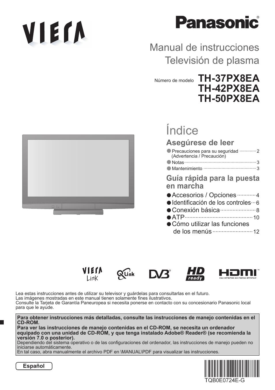 panasonic th42px8ea manual del usuario p ginas 16 tambi n para rh pdfmanuales com manual de usuario panasonic tes824 manual de usuario panasonic kx-t7730