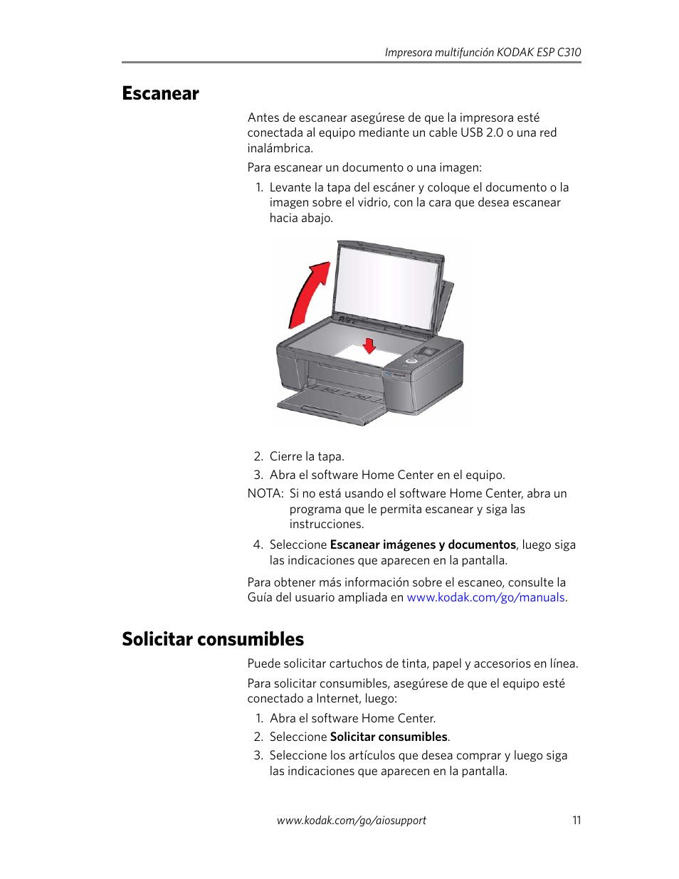 escanear solicitar consumibles escanear solicitar consumibles rh pdfmanuales com
