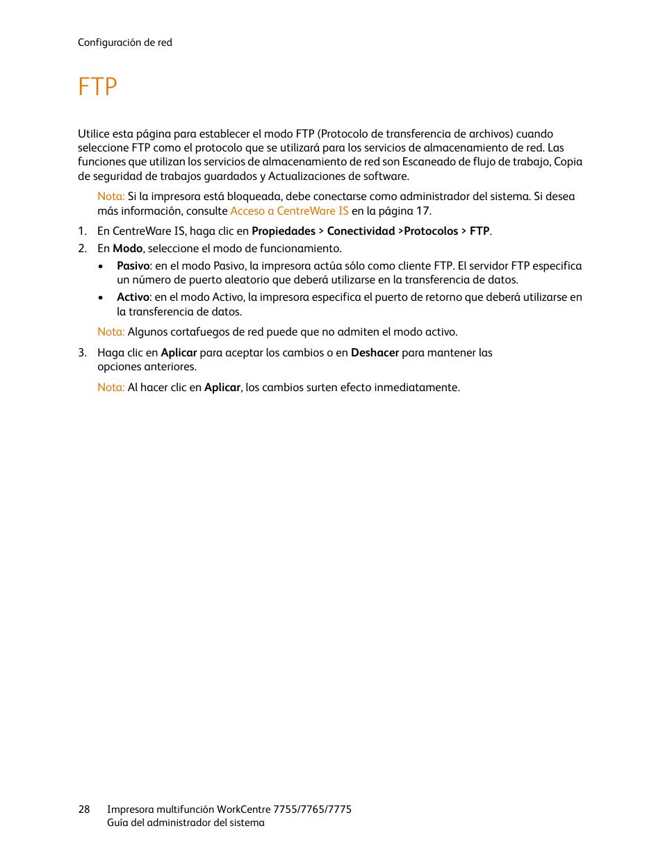 Xerox WorkCentre 7755-7765-7775 con EFI Fiery Controller