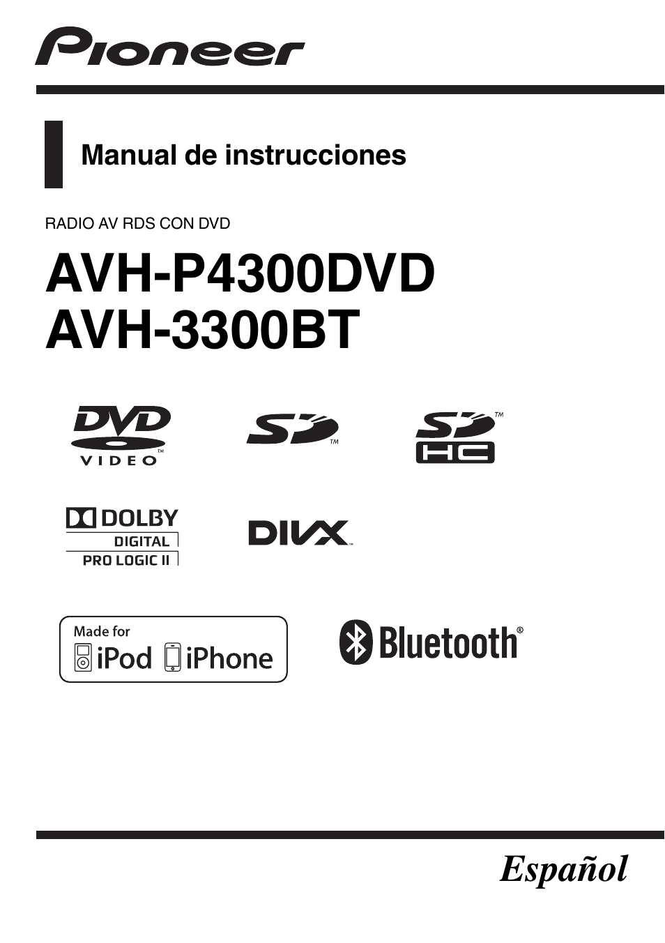 Pioneer Avh P4300dvd Manual Del Usuario P Ginas 104 Tambi N. Pioneer Avh P4300dvd Manual Del Usuario P Ginas 104 Tambi N Para 3300bt. Wiring. Pioneer Avh P4300 Wiring Diagram At Scoala.co