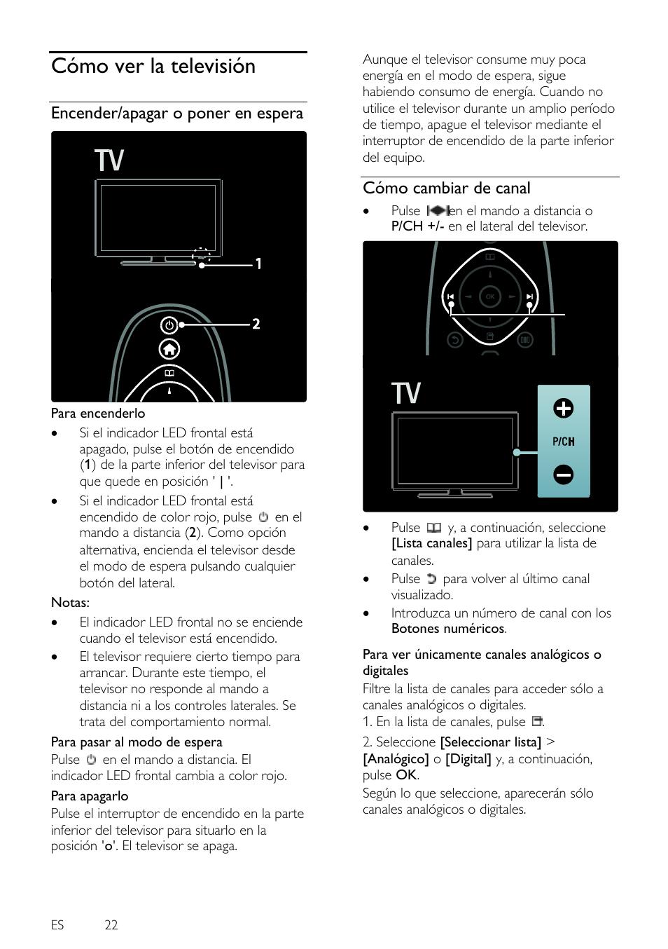 Distancia para ver tv led de ambilight estilo de sonido - Distancias recomendadas para ver tv led ...