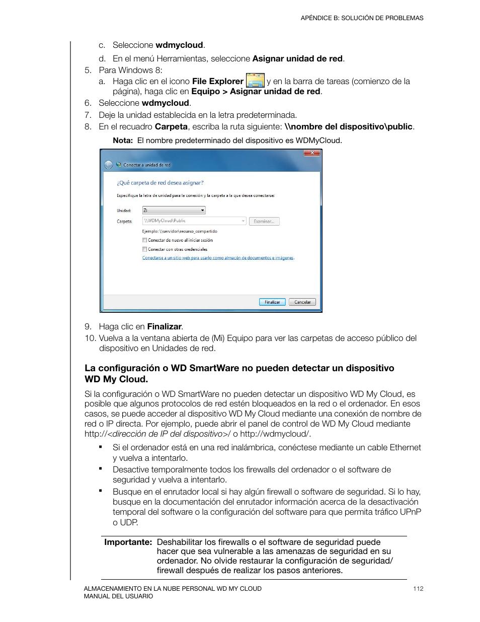 Western Digital My Cloud User Manual Manual del usuario