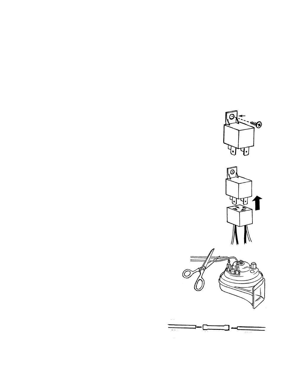 Horn Wiring Kit Wolo MCHWK-2 Air