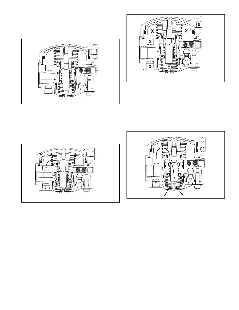 Válvula relé frenos de aire funcionamiento