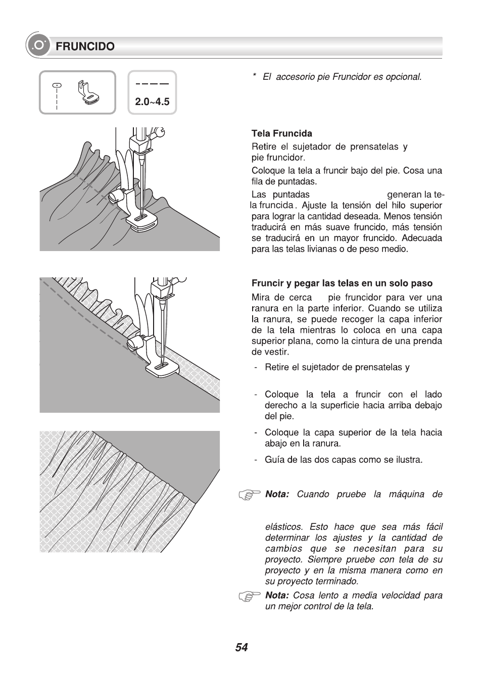 Singer 9340 Signature Manual Del Usuario Página 59 91