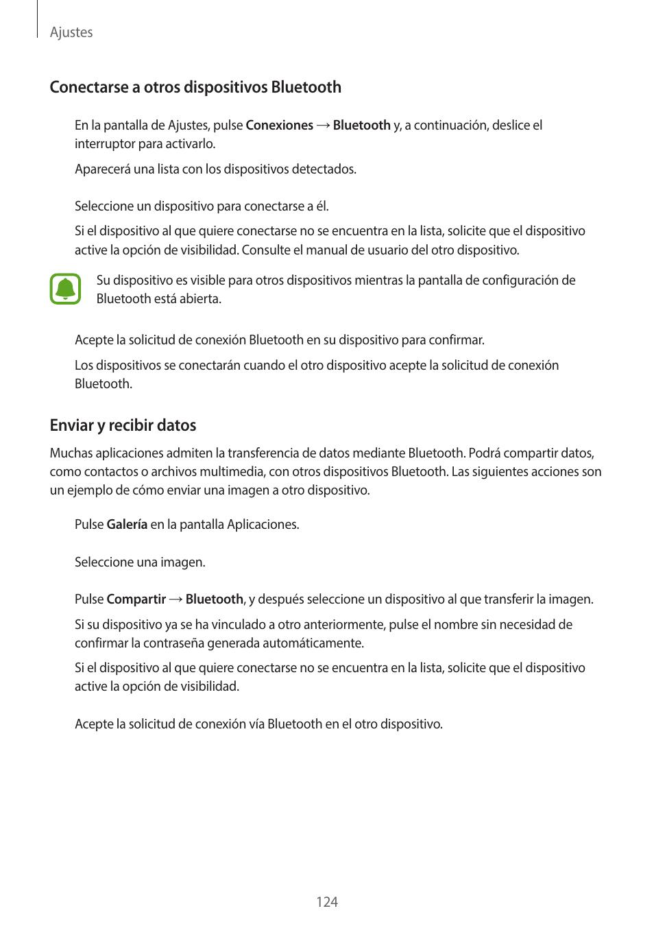 Samsung Galaxy A3 SM-A320FL Manual del usuario   Página 124 / 159