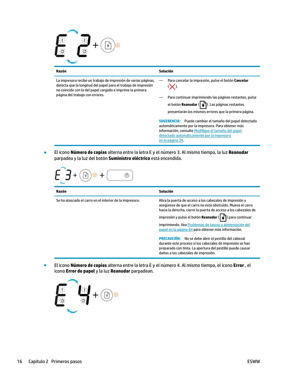 HP DeskJet GT 5820 Manual del usuario   Página 22 / 136   También ...