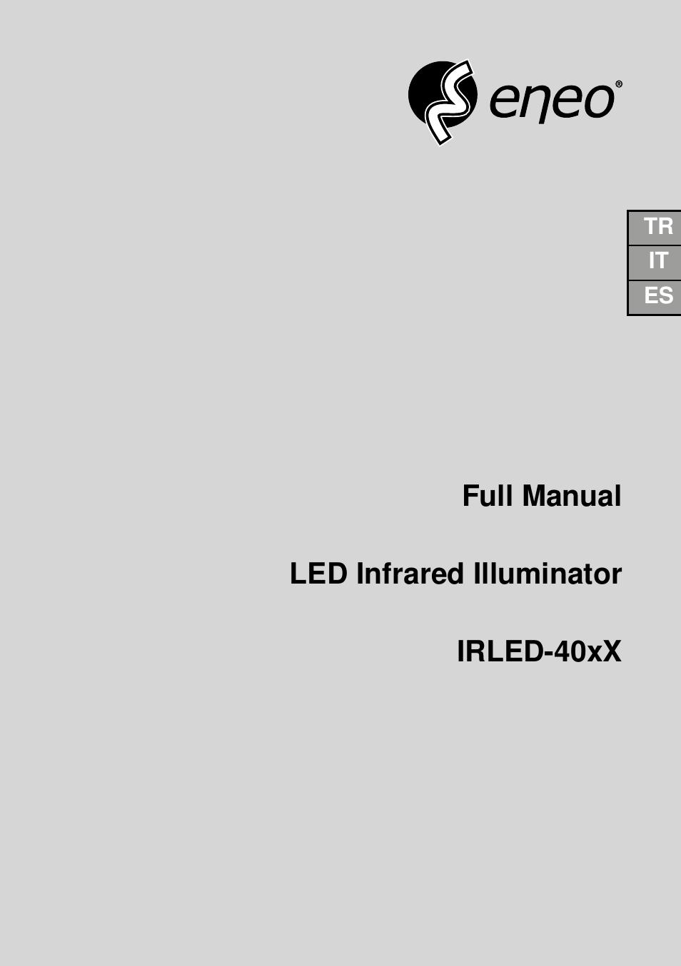 eneo irled 401e manual del usuario p u00e1ginas 32 tambi u00e9n para irled 401s  irled 402e  irled 402s