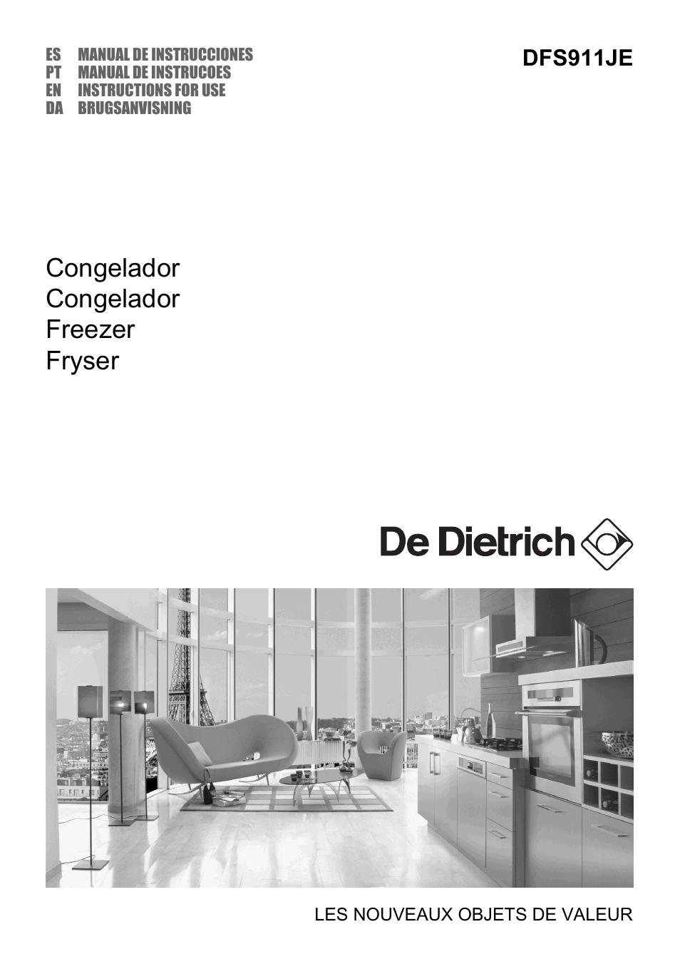 de dietrich dfs911je manual del usuario p u00e1ginas 16