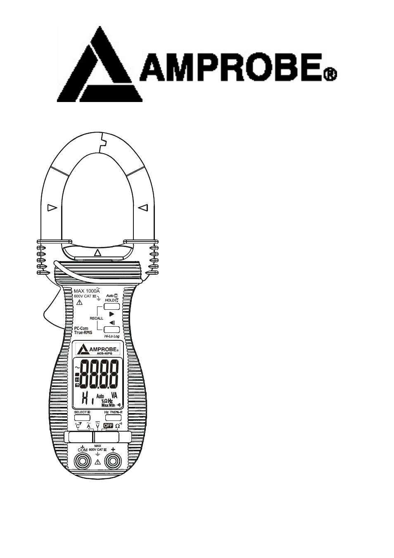 amprobe acd 16 pro clamp meters manual del usuario p u00e1ginas 17 tambi u00e9n para acd 16 trms pro